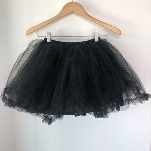 Disney Tutu Couture Black Minnie Sparkle Skirt - 7